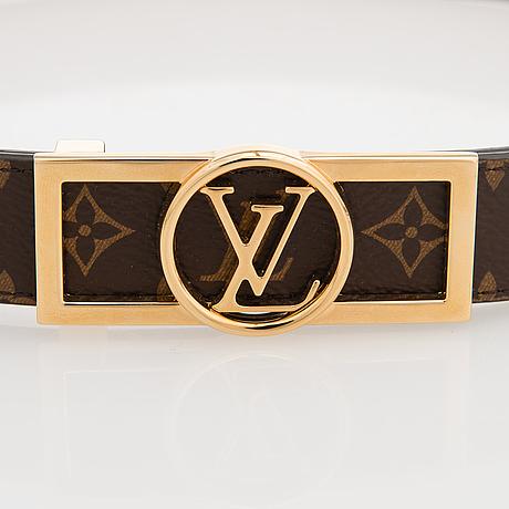 Louis vuitton, a 'dauphine reversable' belt, size 70/28.
