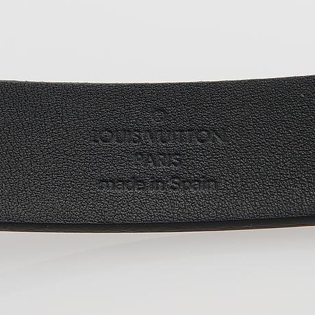 "Louis vuitton, ""lv initsiales 20 mm"", belt, size 70/28."