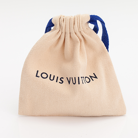 """Louis vuitton, """"blooming strass"""" necklace. marked louis vuitton paris, made in germany."""