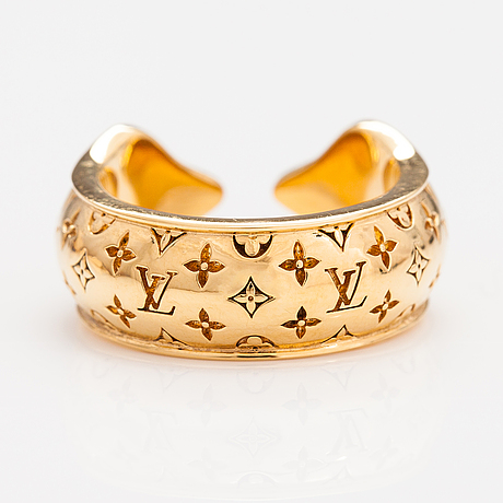 "Louis vuitton, a ""nanogram sweet dreams"" ring. marked louis vuitton paris, italy."