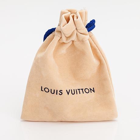 """Louis vuitton, an """"essential v planète"""" bracelet. marked louis vuitton paris, made in italy."""