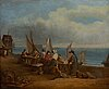 William shayer, in the manner of, oil on canvas, signed.