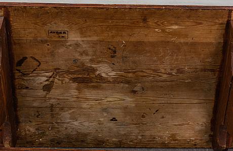 Bockbord, 1800-tal, kunglig proveniens.