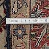 Matto, an old qum, figural, iranian, ca 211-213,5 x 143,5-148 cm.