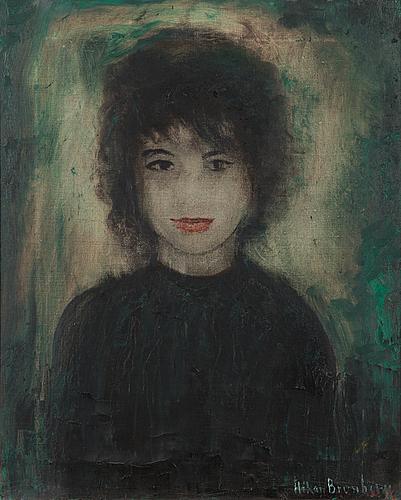 Håkan brunberg, oil on canvas, signed.