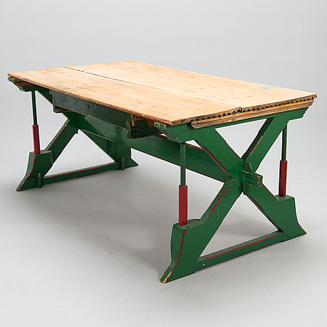 Drawing-/architect table, late 19th century.