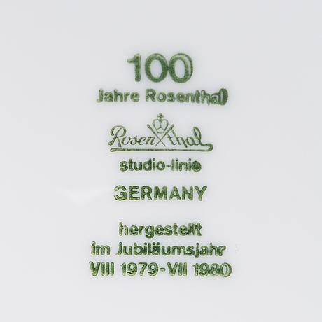 "Timo sarpaneva, a 31-piece set of ""suomi"" tableware for rosenthal studio-line."