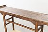 A chinese wooden altar table, alter part of the 19th century/early 20th century.