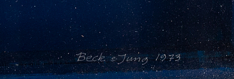Beck & jung, multiplar, 4 st, 1973, signerade 6/6, 3/6, 4/6, 1/6,