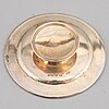 A three piece set of communion silver, london 1850-59.