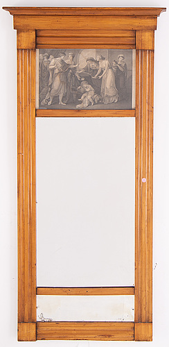 An early 19th century mirror.