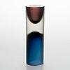 Tapio wirkkala, a 'double-headed' glass vase signed tapio wirkkala - 3892. iittala, finland 1955-1968.