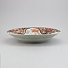 A large imari serving dish, japan, 19th century.