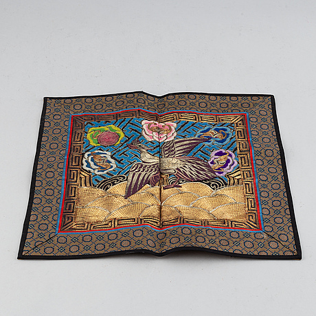 A chinese textile, 20th century.
