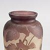 A val saint lambert glass vase.
