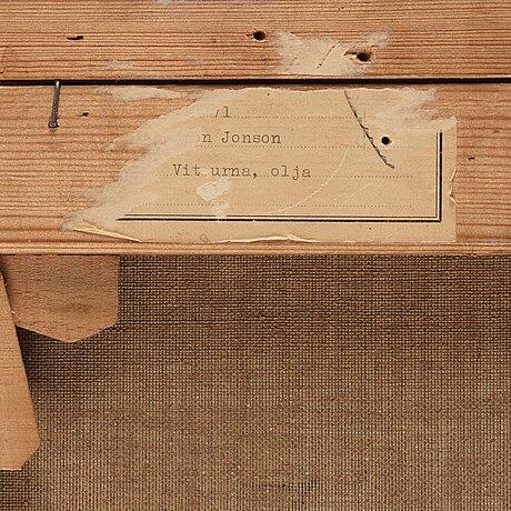 "Sven jonson, ""vit urna/no.8""."