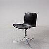 "Poul kjaerholm, a ""pk9"" chair, edition e kold christensen denmark."