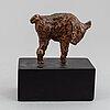 Unknown artistm 20th century, sculpture, bronze.