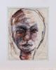 Elvine osterman, 8 teckningar i blyerts samt pastell.