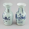 Two chinese vases, early 20th century.