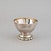 A georg jensen silver bowl, denmark 1919, swedish import mark.