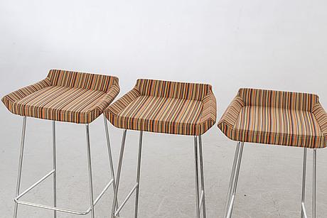 Barpallar 5 st swedese möbler 1900-talets senare del.