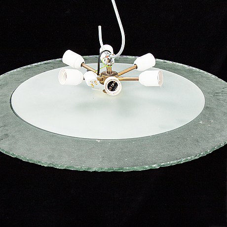 A ceiling lamp, 1930s.