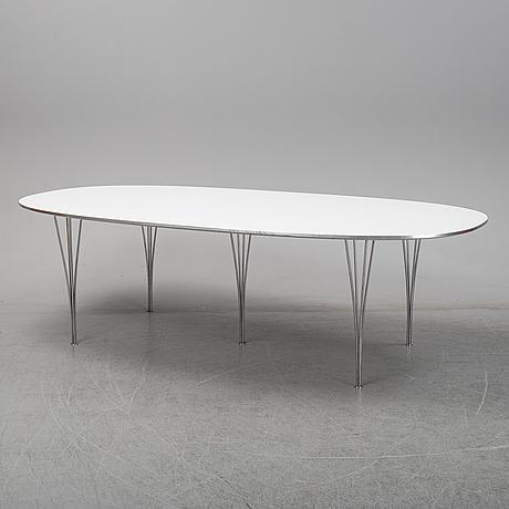 """Bruno mathsson/piet hein, matbord, """"superellips"""", fritz hansen."""