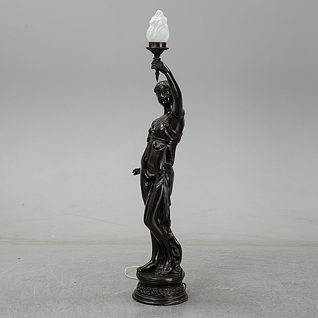A floor lamp, second half of the 20th century.