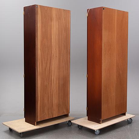 Göran malmvall, a pair of mahogany 'ka72' cabinets, karl andersson & söner, husqvarna.