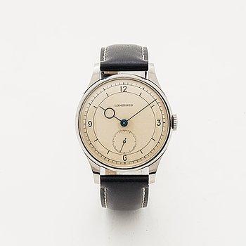Longines, Jumbo, Calatrava, wristwatch, 37 mm.