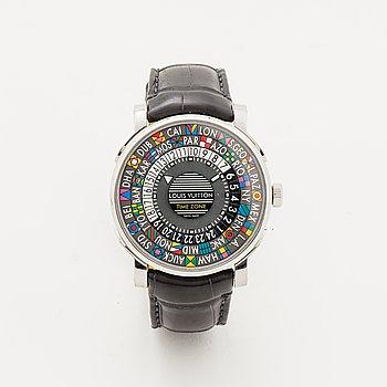 Louis Vuitton, Escale World Time, wristwatch, 39 mm.