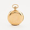 Pocket watch, hunter, case, minute repeating, 53.5 mm.