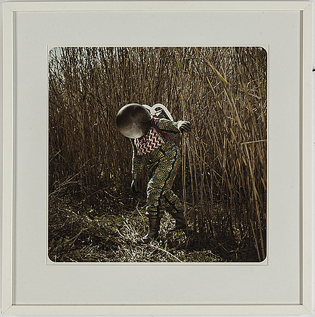 Christina de middel, a photograph, signed and numbered 2/50.