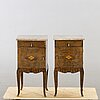 A pair of 1930's night stands.