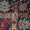 A carpet, semi-antique tabriz, ca 413,5 x 328,5 cm.