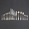 A silver cutlery, 'vasa', gab stockholm (108 pc).