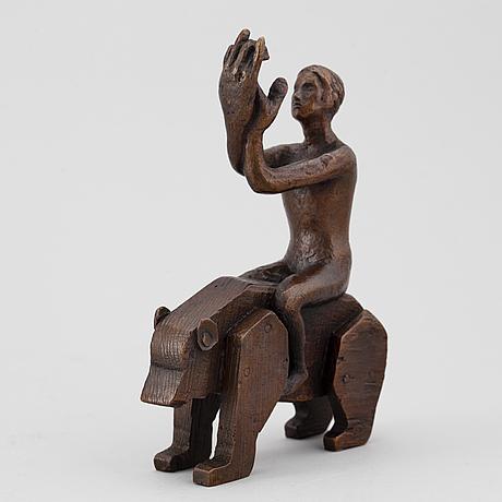 Tilda lovell, skulptur, brons, numrerad 54/150.
