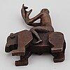 Tilda lovell, sculpture, bronze, numbered 54/150.