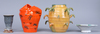 Parti keramik, 4 delar, ulrica hydman vallien.