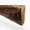 Flintlåsgevär, cirka 1780 signerad ios fruwirth in wienn (joseph fruwirth, wien, 1722-1797).