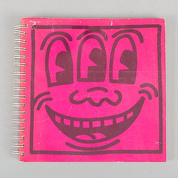 Keith Haring, Book published by Tony Shafrazi Gallery.