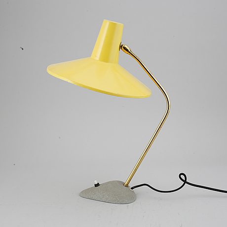 A 1960's table lamp.
