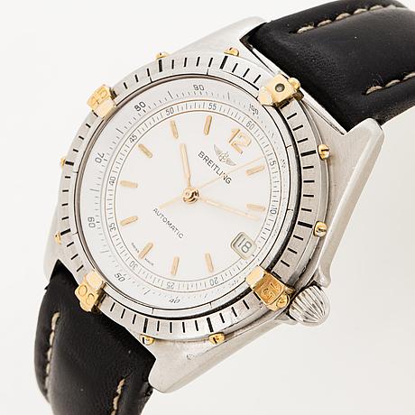 Breitling, antares, wristwatch, 38 mm.