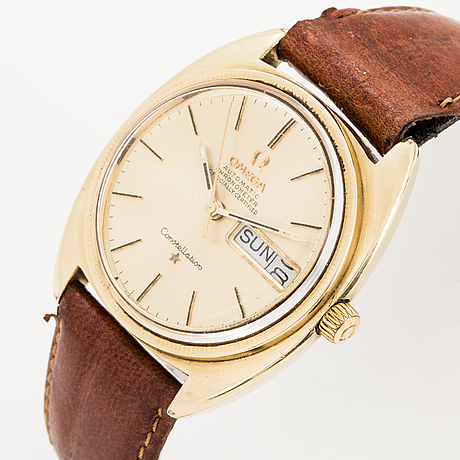 Omega, constellation, chronometer, wristwatch, 35 mm.