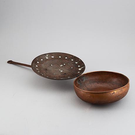 SÄngvÄrmare, koppar, troligen 1500-/1600-tal.