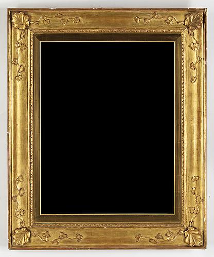 A gilt frame, early 19th century.