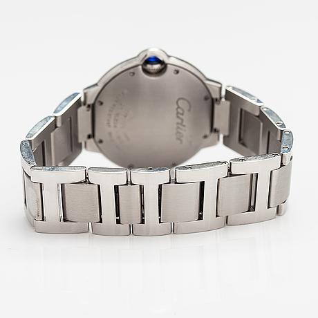 Cartier, ballon bleu de cartier, wristwatch, 36 mm.