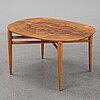 A swedish modern coffee table, smf, svenska möbelfabriken, bodafors, 1950s.