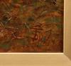 OkÄnd konstnÄr, olja på pannå, sign. omkring sekelskiftet 1900.